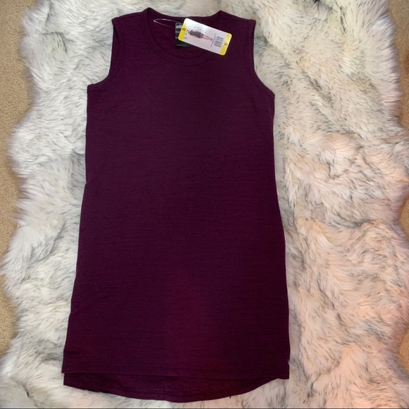 32Cool Dresses & Skirts - NWT Women's 32Cool Burgandy Space Dye Dress